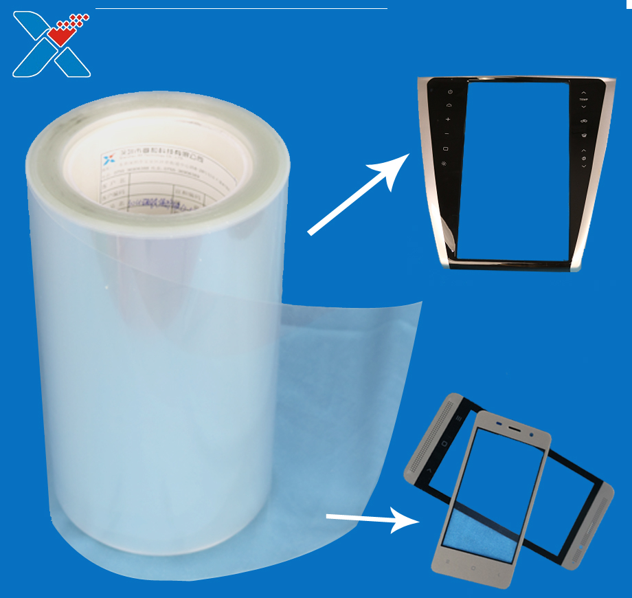 high clear transparent thin optics polyester pet film PET roll for inkjet printing