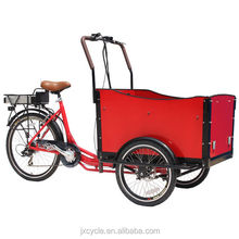 van cargo tricycle for family use/for bring kids/for transporting