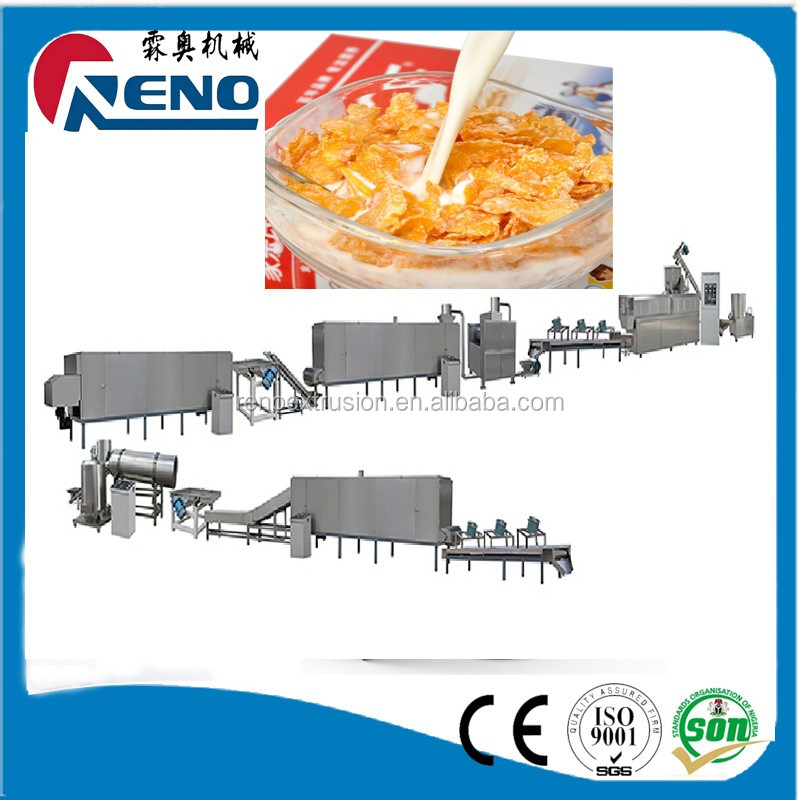 nutritive Low sugar grains corn flakes production line