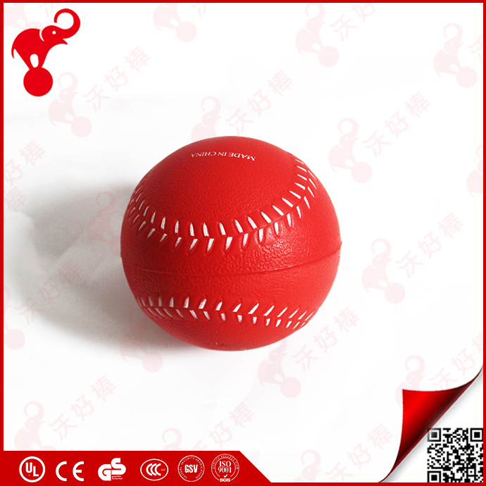 custom plastic cheap stress toy ball full printed color sports pu foam ball