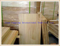Decorating Solid Wood Panel,Paulownia finger jointed laminated board