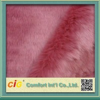 China Manufacturer long pile faux fur for Garments