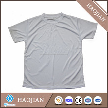 White blank T-shirt for sublimation