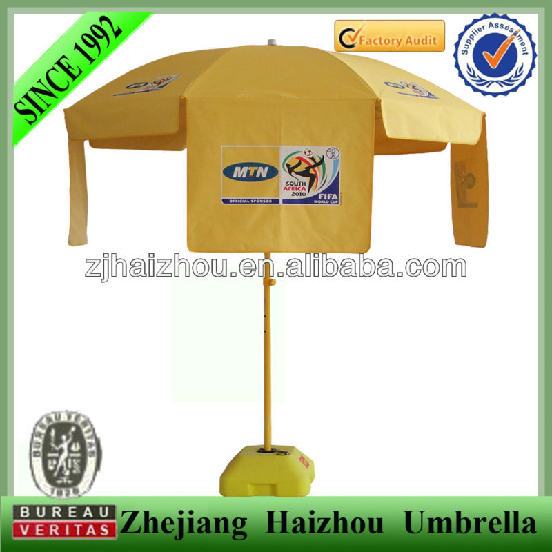 MTN advertising parosal promotional beach umbrella
