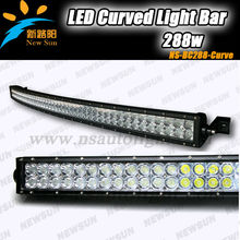 Factory Wholesale 288W curved led light bar,50inch led curved light bars C REE 240W 180W 120W 72W led curved light bar auto lamp