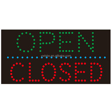 Led OPEN CLOSED sign board