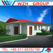 EPS sandwich panel villa container house with bathroom from china supplier