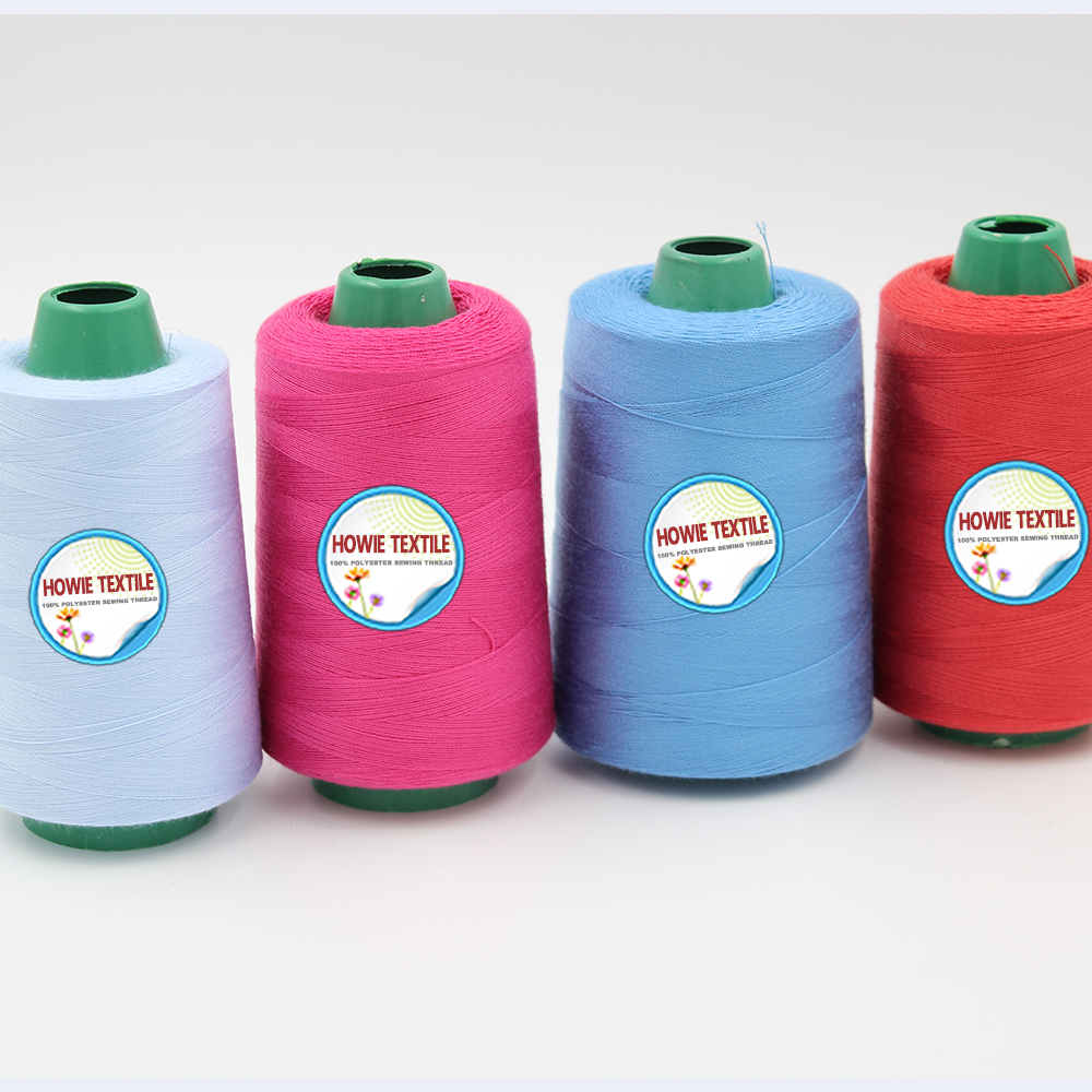 100% polyester,100% Polyester Material and Core Spun Yarn Style colored pbt polyester dyed yarn