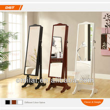Antique Wooden Floor Standing Mirror Frames