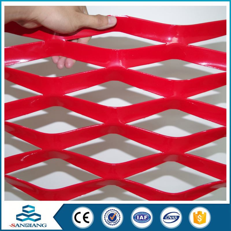 Good quality aluminum filter expanded metal curtain wall mesh