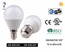 E27 E14 Low Power 3w 4w 5w Led Lamp G45 Household Light Bulb