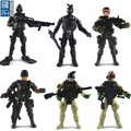 custom 16cm articulated pvc action figure toy with 11 articulation