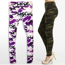 Tall Curvy Buttery Soft Digital Camo Leggings Plus Size Army Green
