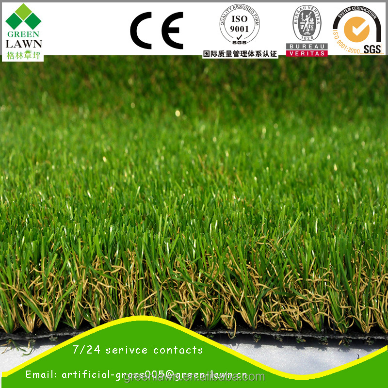 home garden landscaping artificial turf by wuxi greenlawn