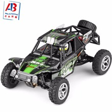 WLtoys 18429 RC car 1 / 18 4WD rc monster truck with led light