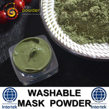 Facial Organic Mineral Green Mud Mask Powder