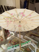 Chinese traditional stytle handmade christian gift bamboo umbrella craft