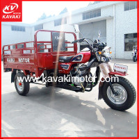 2016 Kavaki Motor Brand New Five Wheel Cargo Farming Tricycle Export To Kuwait Port
