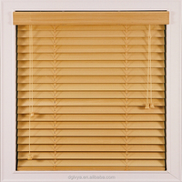wooden blinds and curtains with UV coated print