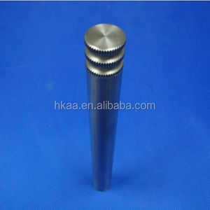 CNC turning machines straight knurling long mild steel shaft supplier
