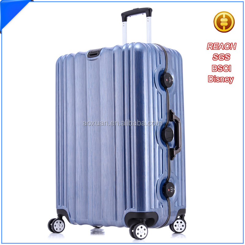 abs polycarbonate trolley luggage carry-on luggage