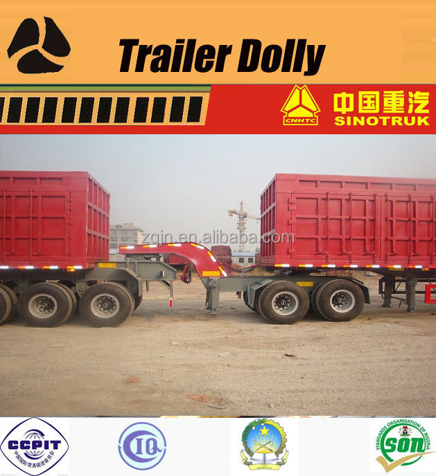 Container transpotation truck trailers dolly