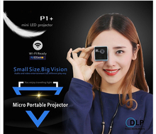 Smart P1 + wifi wireless mini mobile projector micro DLP LED Home supports the magic DLNA pocket Home movie projector