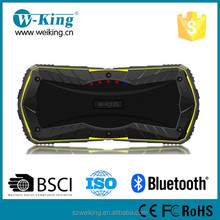 Outdoor Wireless 10W output waterproof IP66 Bluetooth Speaker with power bank function 4000mah