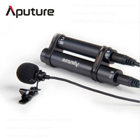 Aputure New Lavalier Noise Cancelling Condenser Omnidirectional microphone for iPhone