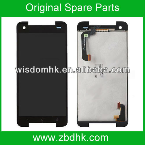 New For HTC Butterfly S LCD Display Screen and Digitizer Touch Assembly without Light Guide - Black