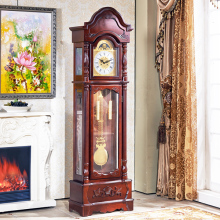 Chime Floor Clock Pendulum Grandfather Clock Antique Large Clock