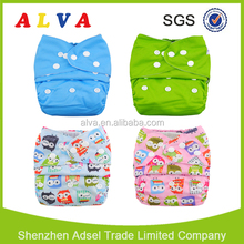 Wholesale Alva Baby Cloth Nappy Covers One Size Pocket Diaper