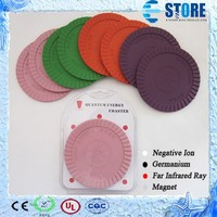 2015 Quantum Energy Coaster/ Negative Ion Mat Colorful