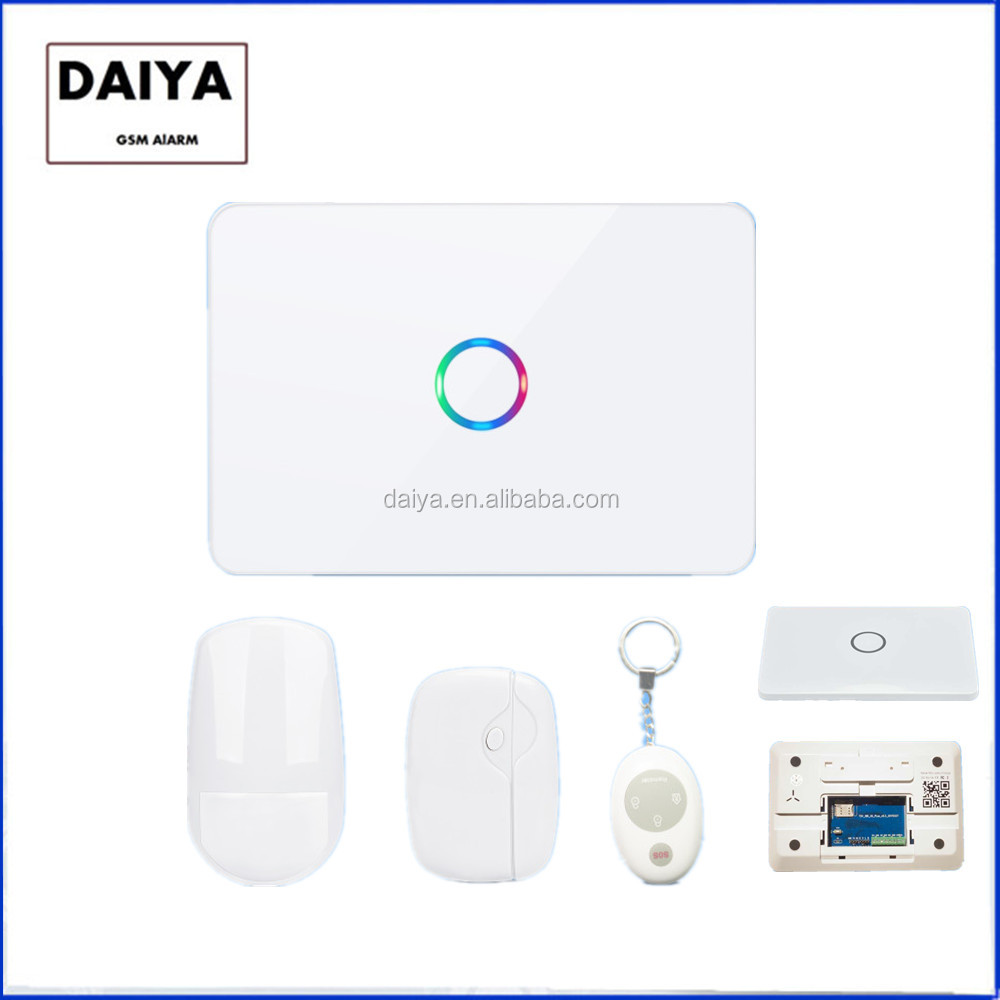 DAIYA 3G WIFI fire alarm system connect with IP camera DY-X903