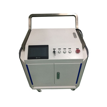 Ooi Highest Efficiency Portable Laser Clean Machine for Rust Aluminum Plate