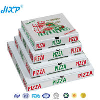 Wholesale white paper pizza packaging boxes