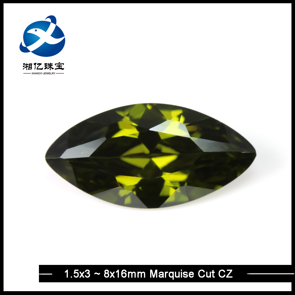 Xiangyi Lab Created Rough CZ Diamonds Stone,Top-Class Rough Olive Industrial Diamonds