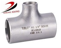 carbon steel galvanized reduce pipe fitting tee