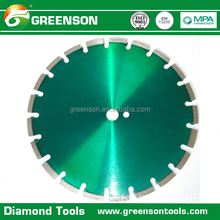 asphalt cutting diamond disc concrete road cutter saw blade