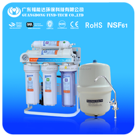 7 stage under sink ro water purifier plant with UV and mineral filter