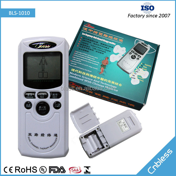 BLS-1010 portable dual channel digital 15 levels therapy machine