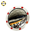 Outdoor round reflective convex mirror