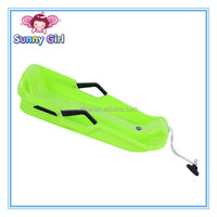 Kline S Size Plastic HDPE Outdoor Pulling Snow Sledge for Adults