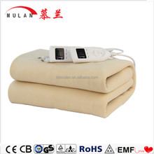 Electric blanket Double size Dual Control with Timer/Adjustable Thermostat Tie Down Electric Blanket