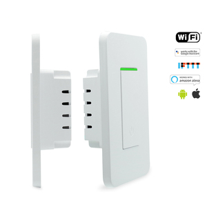 Tuya App control wifi push smart light wall wireless switch for hotel
