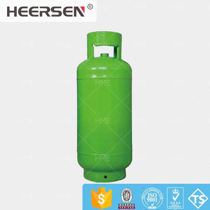 Standard 15kg LPG gas cylinder with OD310mm from qualified manufacturer