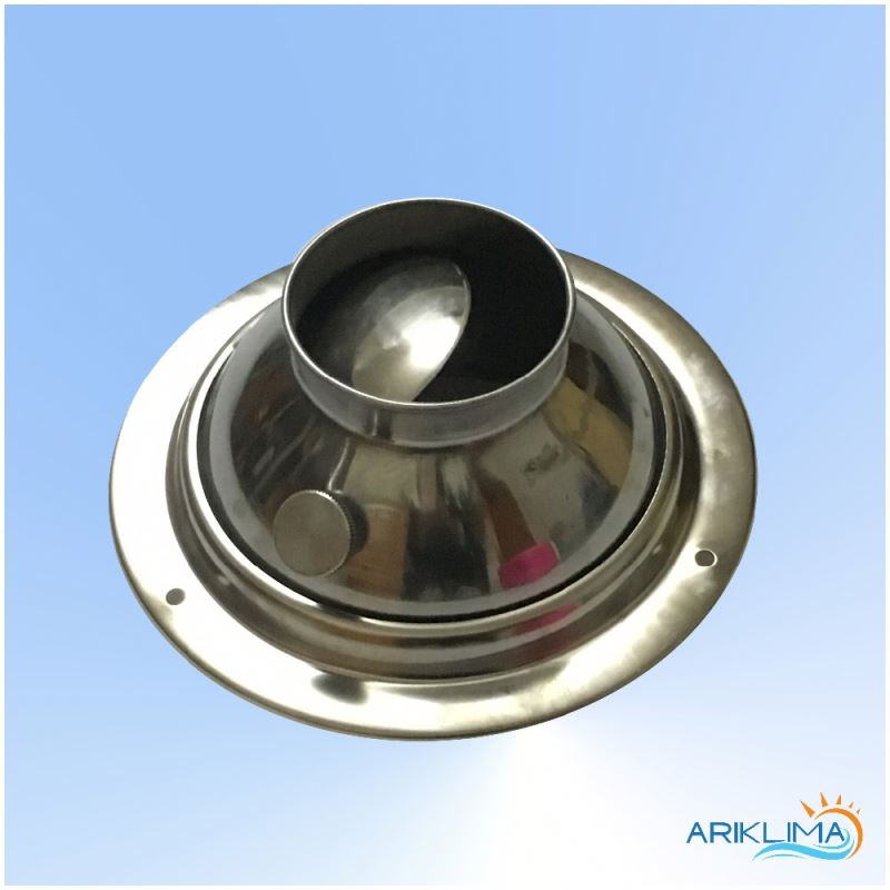 Nozzle air stainless steel jet diffuser for industrial applications JET-SS