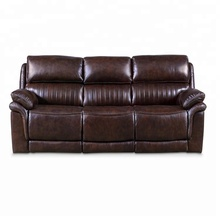 Latest Design Seater Brown Recliner Sofa Set For Living Room Furniture