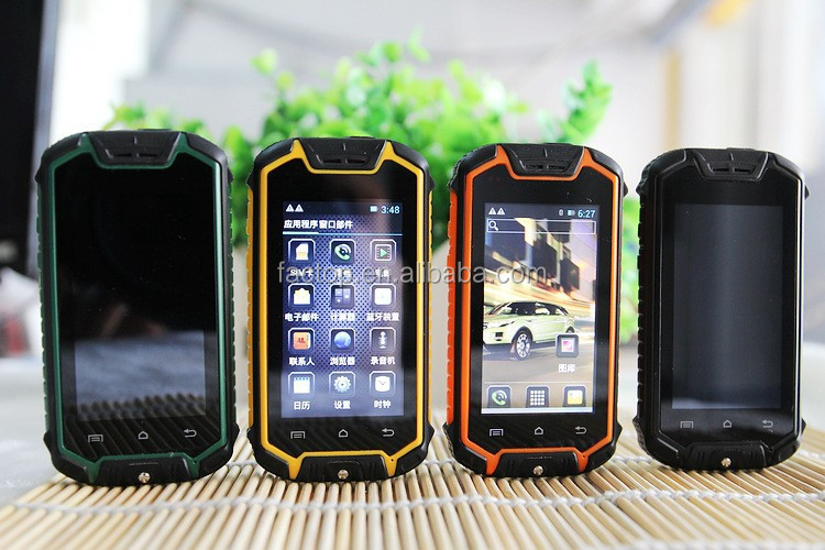 Dustproof Shockproof waterproof 2.5 inch Android 4.2 Discovery Z18 mini simple mobile phone for old people