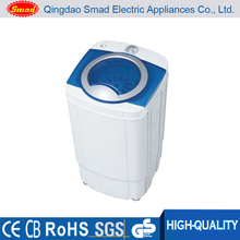 Semi-automatic portable single tub mini clothes spin dryer machine